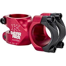 KCNC Bear Arm C Stem Ø31,8mm red